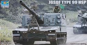 Trumpeter JGSDF Type 99 Self Propelled Howitzer Plastic Model Military Vehicle Kit 1/35 Scale #1597