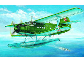 Trumpeter Antonov An-2V Colt Floats Aircraft Plastic Model Airplane Kit 1/72 Scale #1606