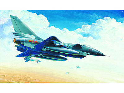 Trumpeter Jian 10 (J10) Chinese Fighter Aircraft -- Plastic Model Airplane Kit -- 1/72 Scale -- #1611