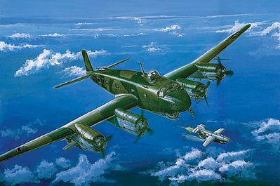 Trumpeter FW200 C-8 Condor Recon Bomber/Transport Plastic Model Airplane Kit 1/72 Scale #1639