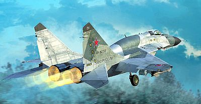 Trumpeter Mig-29SMT Fulcrum Product 9.19 Russian Fighter -- Plastic Model Airplane Kit -- 1/72 Scale -- #1676