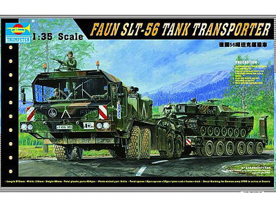 Trumpeter 203 FAUN Elefant SLT-56 Panzer-Transporter in 1:35