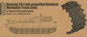 Trumpeter RUSSIAN 2S1 Track Links Plastic Model Vehicle Accessory 1/35 Scale #2060