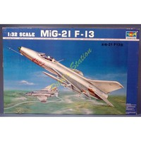 Trumpeter MIG-21 F-13 Fighter Plastic Model Airplane Kit 1/32 Scale #2210