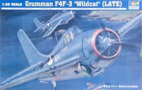 Trumpeter F4F3 Wildcat Fighter Late Version Aircraft Plastic Model Airplane Kit 1/32 Scale #2225