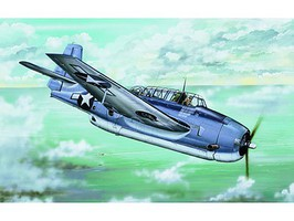 Trumpeter Grumman TBF-1C Avenger Plastic Model Airplane Kit 1/32 Scale #2233