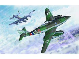 Trumpeter Messerschmitt Me262A1a German Fighter Plane Plastic Model Airplane Kit 1/32 Scale #2235