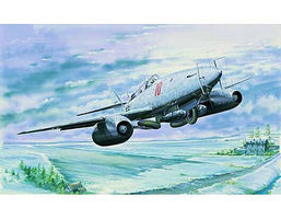 Trumpeter Messerschmitt Me262B1a U1 German Night Fighter Plastic Model Airplane Kit 1/32 Scale #2237