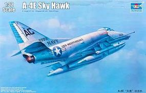 Trumpeter A4E Skyhawk Attack Aircraft Plastic Model Airplane Kit 1/32 Scale #2266