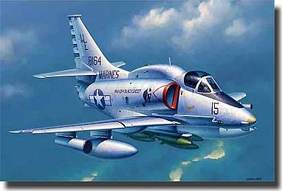 Trumpeter A4M Skyhawk Carrier Launched Ground Attack Aircraft Plastic Model Airplane 1/32 Scale #2268