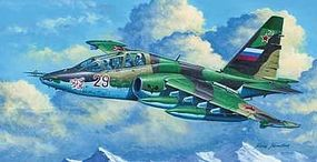 Su25UB Frogfoot B Russian Trainer Aircraft Plastic Model Airplane Kit 1/32 Scale #2277
