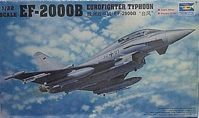 Trumpeter EF-2000B Typhoon Plastic Model Airplane Kit 1/32 Scale #2279