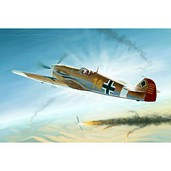 Trumpeter Messerschmitt BF-109F4/Trop German Fighter Plastic Model Airplane Kit 1/32 Scale #2293