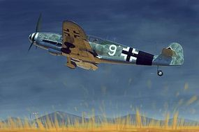 Trumpeter Messerschmitt BF109G-10 German Fighter Plastic Model Airplane Kit 1/32 Scale #2298
