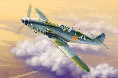 Trumpeter Messerschmitt Bf109K-4 German Fighter Plastic Model Airplane Kit 1/32 Scale #2299