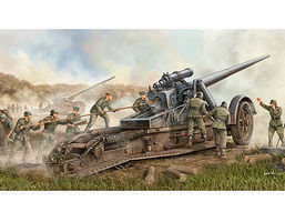 Trumpeter German 17cm s.K 18 Heavy Artillery Gun Plastic Model Military Vehicle 1/35 Scale #2313