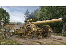 Trumpeter German 21cm Morser 18 Heavy Artillery Gun Plastic Model Military Vehicle 1/35 Scale #2314
