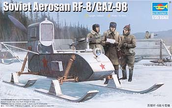 Trumpeter Soviet RF-8 Aerosan -- Plastic Model Military Vehicle -- 1/35 Scale -- #2322