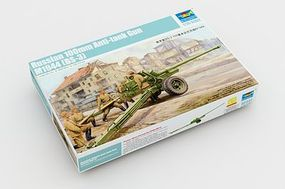 Trumpeter Russian 100mm Anti Tank M1944 Gun Plastic Model Military Vehicle 1/35 Scale #2331