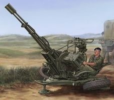 Trumpeter Russian ZU23-2 Anti-Aircraft Gun (New Tool) Plastic Model Military Vehicle 1/35 Scale #2348
