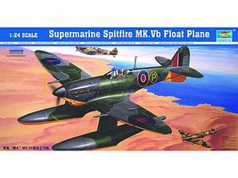 Trumpeter Spitfire Mk.Vb Floatplane Plastic Model Airplane Kit 1/24 Scale #2404