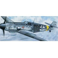 Trumpeter Bf-109G-2 Messerschmitt Plastic Model Airplane Kit 1/24 Scale #2406