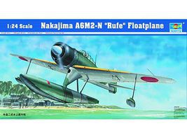 Trumpeter A6M2N Rufe Seaplane Plastic Model Airplane Kit 1/24 Scale #2410