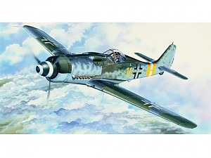 Trumpeter Focke Wulf Fw-190D-9 -- Plastic Model Airplane Kit -- 1/24 Scale -- #2411