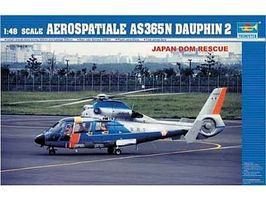 Trumpeter AS365N2 Dauphin Plastic Model Helicopter Kit 1/48 Scale #2819