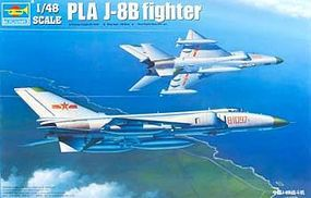 Trumpeter PLA J8B Chinese Fighter Aircraft Plastic Model Airplane Kit 1/48 Scale #2845
