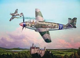 Trumpeter German Messerschmitt Me509 Aircraft Plastic Model Airplane Kit 1/48 Scale #2849