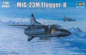 Trumpeter Mig-23M Flogger-B Russian Fighter Aircraft Plastic Model Airplane Kit 1/48 Scale #2853