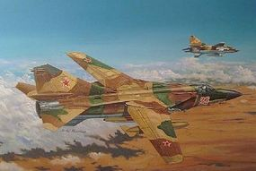 Trumpeter Mig-23ML Flogger-G Soviet Fighter Aircraft Plastic Model Airplane Kit 1/48 Scale #2855