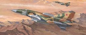 Trumpeter MIG-23MLD Flogger-K Russian Fighter Plastic Model Airplane Kit 1/48 Scale #2856