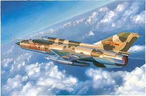 Trumpeter J7C/J7D Chinese Fighter Plastic Model Airplane Kit 1/48 Scale #2864