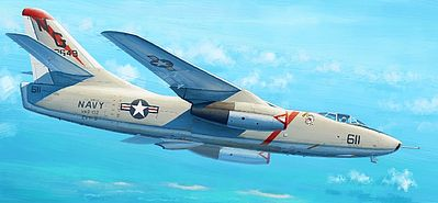 Trumpeter KA-3B Skywarrior Strategic Bomber Aircraft Plastic Model Airplane Kit 1/48 Scale #2869