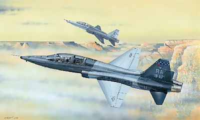 Trumpeter USAF T-38C Talon Jet Trainer -- Plastic Model Airplane Kit -- 1/48 Scale -- #2877