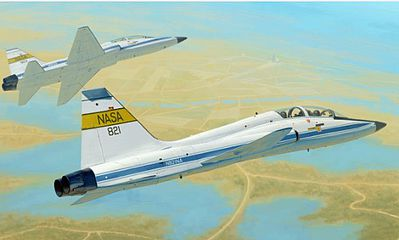 Trumpeter USAF T-38C Talon NASA Jet Trainer -- Plastic Model Airplane Kit -- 1/48 Scale -- #2878