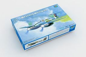 Trumpeter Westland Whirlwind British Fighter Aircraft Plastic Model Airplane Kit 1/48 Scale #2890