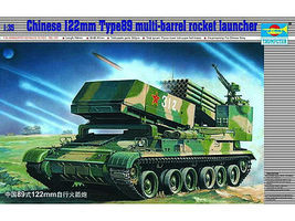 Trumpeter Chinese Type 89 with 122mm Plastic Model Military Vehicle 1/35 Scale #307
