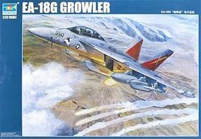 Trumpeter EA18G Growler Electronic Warfare Aircraft Plastic Model Airplane Kit 1/32 Scale #3206