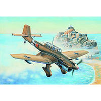Trumpeter German Ju-87R Stuka Attack Aircraft Plastic Model Airplane Kit 1/32 Scale #3216