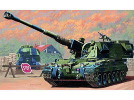 Trumpeter British 155mm AS90 Self-Propelled Howitzer Plastic Model Military Vehicle 1/35 Scale #324