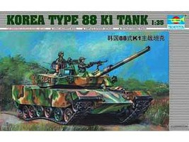 Trumpeter KOREAN TYPE 88K1 TANK 1-35