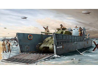 Trumpeter WWII LCM(3) US Navy Landing Craft Plastic Model Military Ship 1/35 Scale #347