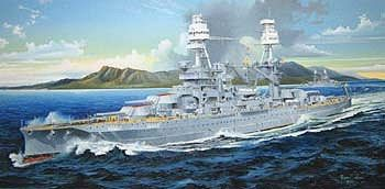 Trumpeter USS Arizona BB-39 Battleship 1941 -- Plastic Model Military Ship Kit -- 1/200 Scale -- #3701