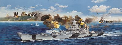 Trumpeter USS Iowa BB-61 Battleship -- Plastic Model Military Ship Kit -- 1/200 Scale -- #3706