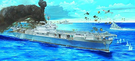 Trumpeter USS Yorktown CV5 Aircraft Carrier Plastic Model Military Ship Kit 1/200 Scale #3711