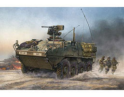 Trumpeter M1126 Stryker Infantry Carrier Vehicle Plastic Model Military Kit 1/35 Scale #375