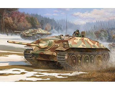 Trumpeter German E25 Tank Destroyer Plastic Model Military Vehicle Kit 1/35 Scale #383